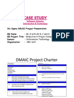 Six sigma dmaic project report template six sigma data analysis case study 3 software industry it six sigma project maxwellsz