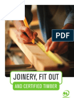 PEFC - Joinery, Fit Out and Certified Timber