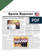 September 19 - 25, 2012 Sports Reporter