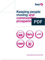 FirstGroup Annual Report 2012