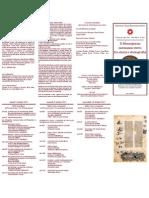 Brochure XX Giornate Normanno-sveve