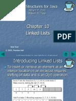 10. Linked Lists