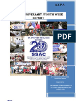 20th Anniversary Report of the Anglican Young Peoples' Association - St. Stephen Branch,Tema-Ghana