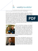 Weekly Newsletter #27 2012