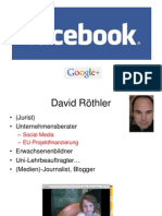 Facebook Google+ Twitter Webinar September2012