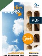 Guide 2 e  édition des visites d'ateliers d'artistes