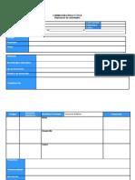 Formato Planeacion Fce 2011