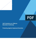 0 - SAP Solutions on VMware - Business Continuity