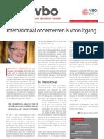 Internationaal ondernemen is vooruitgang, Infor VBO 28, 20 september 2012