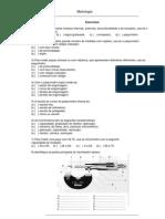 Coleção de exercícios de metrologia