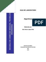 Guia Laboratorio Algoritmos Ver 3 2010 -2