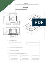 Exercícios de interpretação de desenho técnico