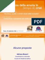 X Rapporto sulla sicurezza scolastica Impararesicuri - Le proposte
