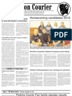 Bison Courier - September 20, 2012