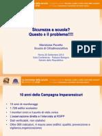 """X Rapporto sulla sicurezza scolastica di Cittadinanzattiva """"Impararesicuri"""""""