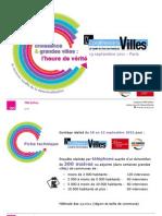 Perspectives d'investissement des maires des grandes villes de France