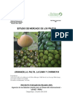 Estudio de Mercado de Frutos