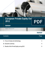 European Private Equity Outlook - Feb 2012