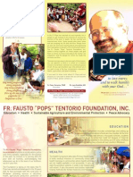 Fr Pops Foundation Brochure in English