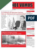 Mensuario A Donde Vamos n° 23 Setiembre 2012