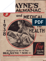 Jayne's Almanac and Medical Guide to Health - 1938 - Dr. D. Jayne & Son