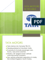 Tata Motors in Trouble