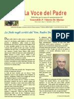 La Voce Del Padre - Settembre 2012