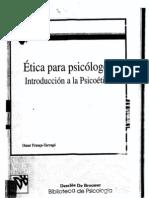 06.- Franca Tarrago, O Etica de La Investigacion en Psicologia y Psiq.