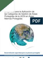 Directrices para la Aplicación de las Categorías de Gestión de Áreas Protegidas de la UICN en Áreas Marinas Protegidas
