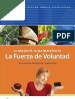Willpower Spanish