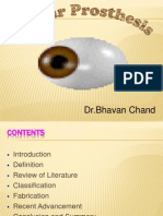 Ocular Prosthesis Bhavan