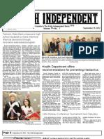 Faith Independent, September 19, 2012
