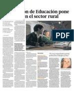 Educacion Sectores Rurales