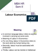 Labour Eco I