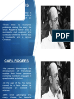 Carl Rogers (Theory of Personality)