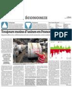 20120918 LeMonde Crisis Empresarial Francia