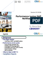 Berg TechEd 2010 Performance Tuning v5