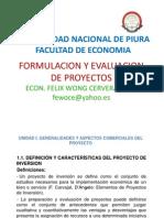 Formulacion y La Evaluacion de Proyectos