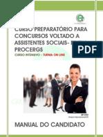 PREPARATÓRIO PARA CONCURSOS- PROCERGS