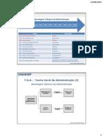 Teoria Geral da Administração (TGA) I - Capítulo 4