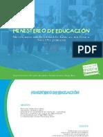Mesocurriculo de Educacion Fisica Preprimaria Region III Suc