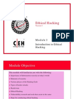 CEH v5 Module 01 Introduction to Ethical Hacking