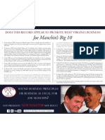 Joe Manchin's Big 10