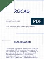 Diapositivas de Rocas