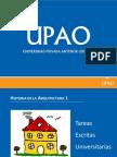 FAUA UPAO. EXPO sobre Elaboracion de Tareas Escritas Universitarias. Docente Vadimiro Lami