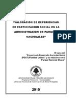 Valoración de Experiencias de Participación Social en la Administración de Parques Nacionales