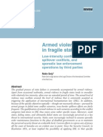 Armed violencein fragile states