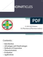 Nanoparticles Ppt