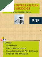 1. Elaboracion Del Plan de Negocios