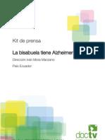 Kit Prensa Bisabuela Alzheimer